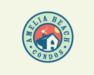 house,real,beach,property,estate,condos logo
