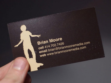 Brian Moore Creative Business Card business card