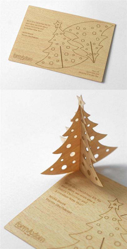 creative,wooden,laser cut business card