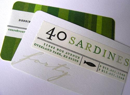 creative,stylish business card