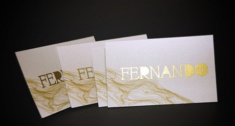metallic color,offset printed,silk screened business card