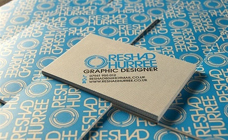 matte,lamination,stylish business card