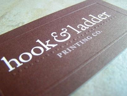 embossed,stylish business card