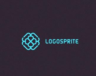 design,flower,sprite logo