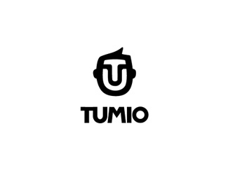 face,simple logo