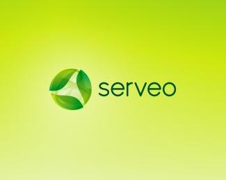 creative,leaf,hosting logo