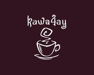 cup,outline,handwritten logo