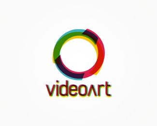 art,circle,color logo