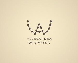 necklace,spots logo