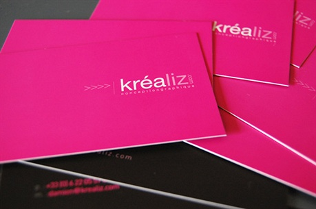 Krealiz business card