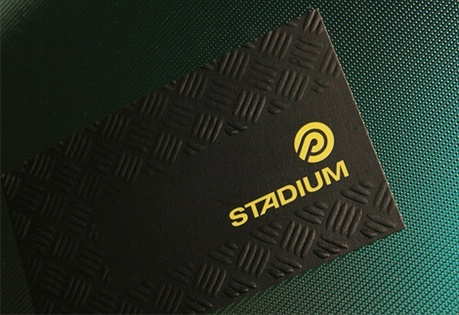 STADIUM Sporting Goods business card