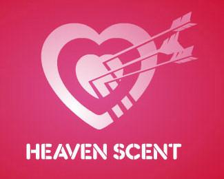 arrow,heart,love,valentine,heaven,scent logo