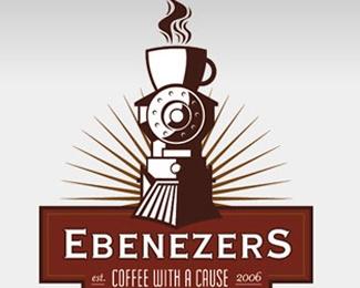 3d,coffee,cup,trophy logo
