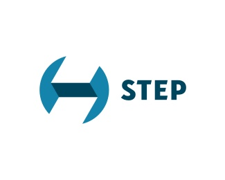 round,strips,step,fancy logo