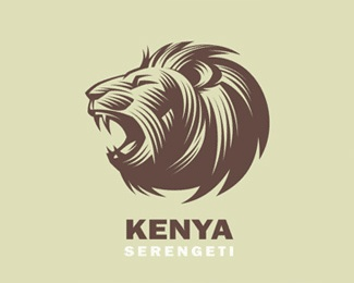 animal,face,lion logo