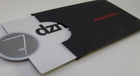 Agency Dznhando Identity Card business card