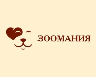 animal,face,shop,pet logo
