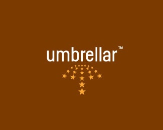 star,umbrella logo