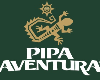 animal,tour,adventure,eco,lizard logo