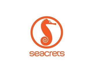 animal,circle,horse,fish,round,sea logo