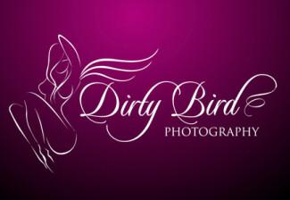 bird,girl,dirty,naked logo