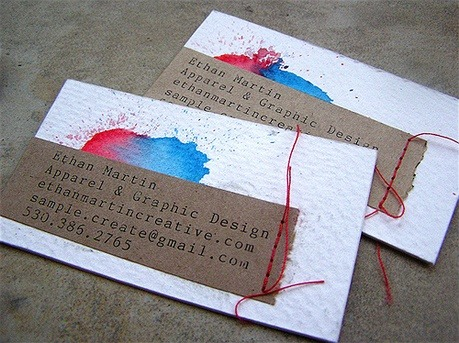 Ethan Martin Creative business card