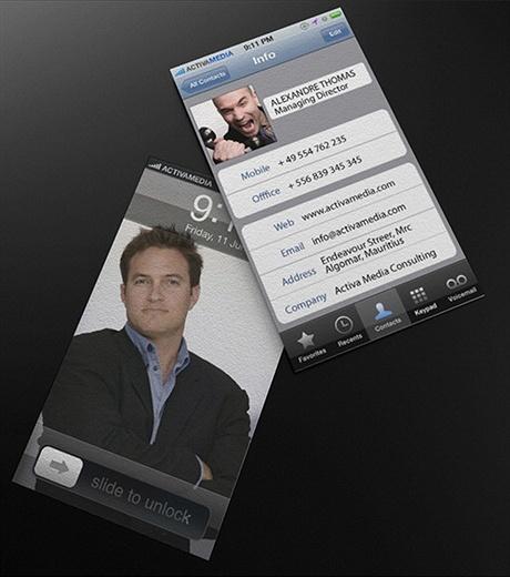 Activa Media business card