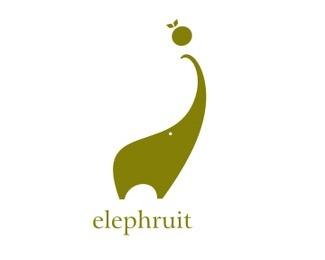 animal,elephant,fancy logo