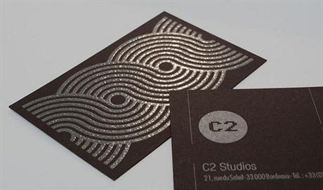 C2 Studios Card business card