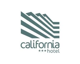 building,hotel,strips logo