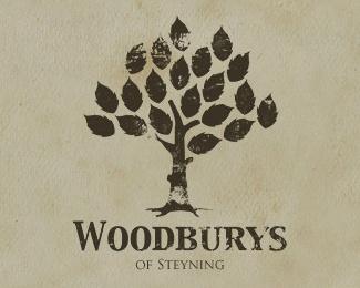 grunge,leaf,tree,wood logo