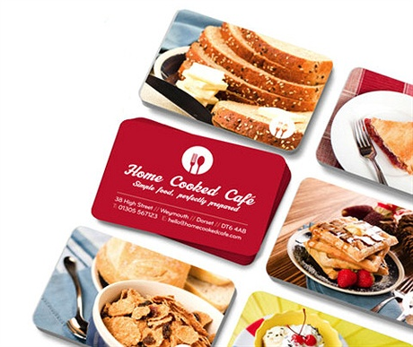 Free Business Card Giveaway business card