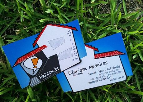 KKI Creative Agency business card