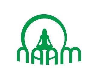 round,yoga,spiritual,curves logo