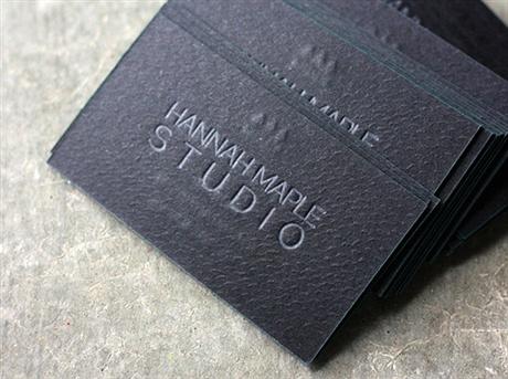 Hannah Maple Business Cards business card