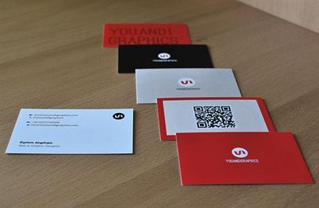 Graphics Designer Card business card