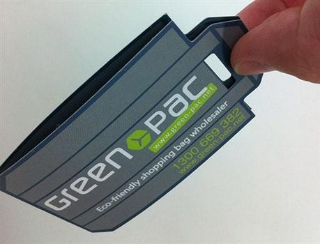 GREENPAC Identity Card business card
