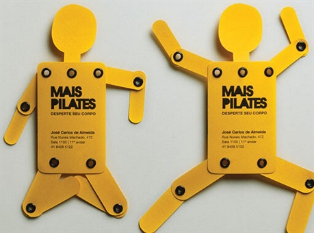 Mais Pilates business card