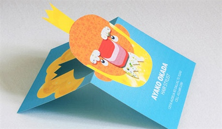 Popup Business Cards business card