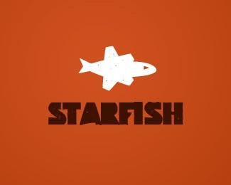 animal,bold,star,fish logo