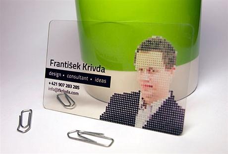 creative,pixel,transparent,fancy,plastic business card