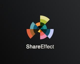 color,strips,effect logo