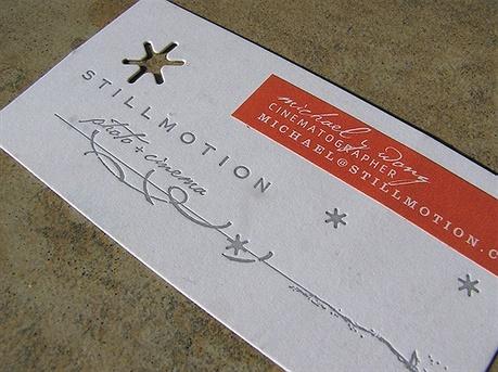 Still Motion business card