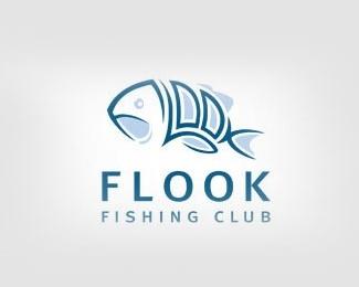 animal,fish,club logo