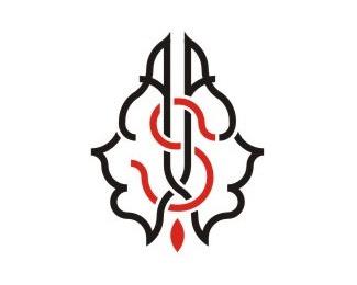 lines,complex,curves,fractal logo