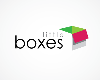 3d,storage,boxes,carton logo