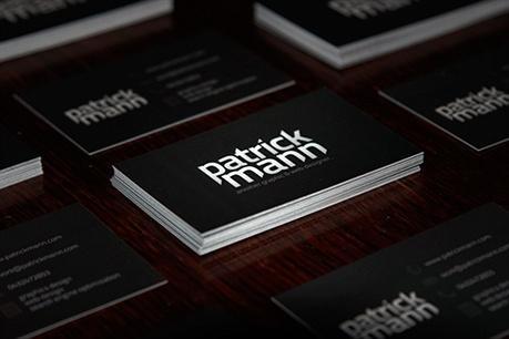 Web Designer Card business card