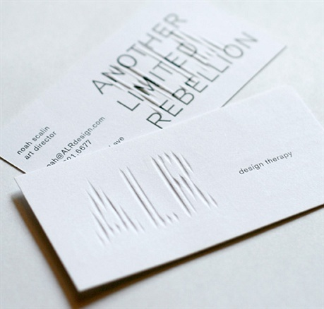 Another Limited Rebellion, Inc. business card
