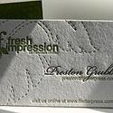 Fresh Impression Card