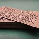 Chipboard Letterpress